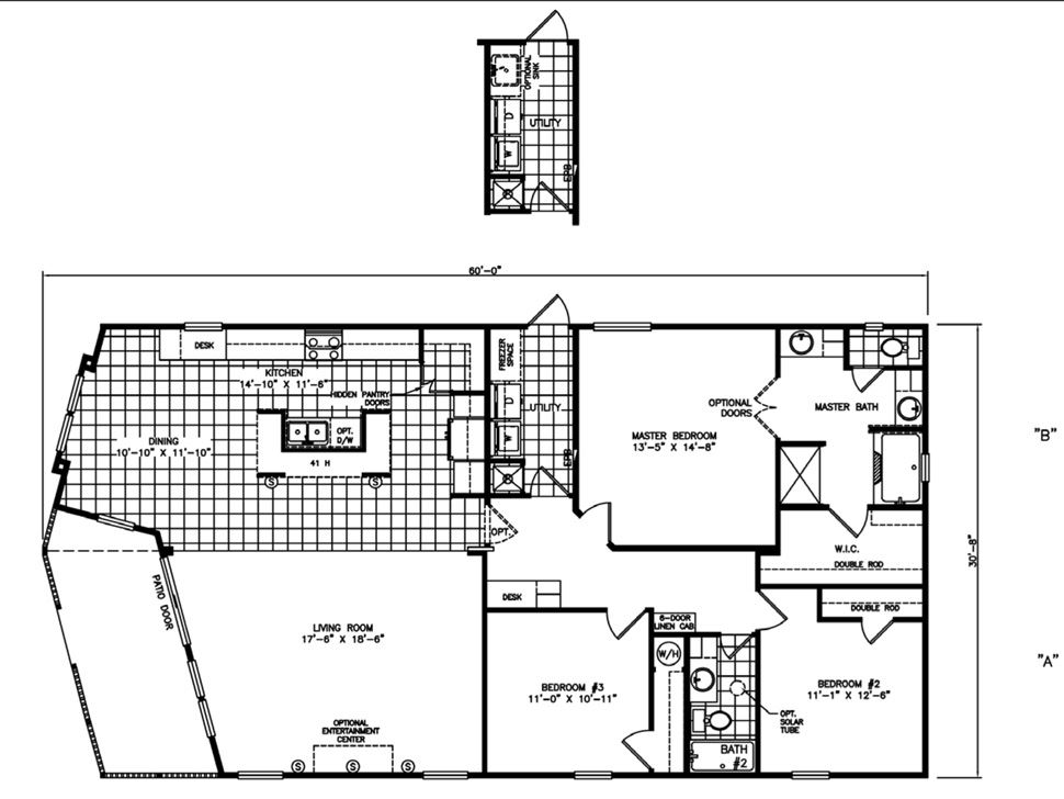 Mi casa homes the excalibur manufactured home floorplans Michigan home builders floor plans