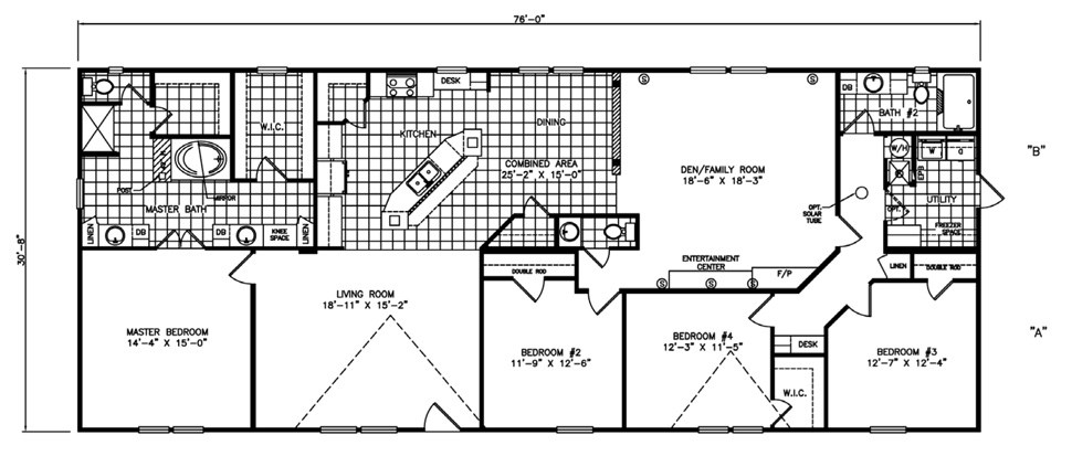 The Luxor Manufactured Home Floorplans