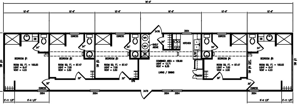 14×70 mobile home plans – house design ideas