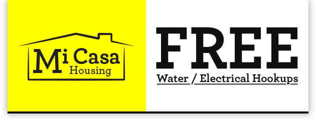 FREE Water / Electrical Hookup
